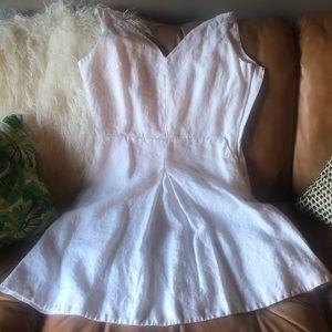 Gap 100% linen dress